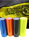 Car light membrane translucent membrane heterochrosis membrane scrub rear light film 60cm*30cm