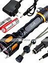 Lights LED Flashlights/Torch / Handheld Flashlights/Torch LED 2400 Lumens 5 Mode Cree XM-L2 18650Waterproof / Rechargeable / Impact