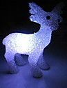 Deer EVA Crystal Color-changing Night Light