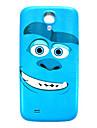 padrão de monstros fina cobertura caso difícil para Samsung Galaxy S4 mini-i9190
