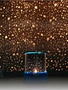 Starry Night Sky Projector Colorful LED Night Light (Random Color,Powered by 3 AA Battery)