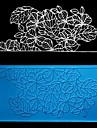 Leaves Lace Fondant Cake Chocolate Resin Clay Candy Silicone Mold, L16.8cm*W8.4cm*H0.4cm