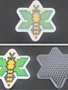 1шт шаблон ясно Pegboard пчелы шаблон для 5мм Hama бисером предохранителей бисера