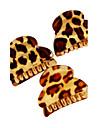 леопард полоса акриловые небольшой волос когти
