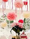 8 polegadas decoracoes da festa de flor de papel - conjunto de 4 (mais cores)