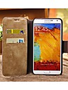 Allspark® Retro Wallet Style Nubuck Genuine Leather Full Body Case for Samsung Galaxy Note2 N7100