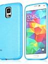 Pour Samsung Galaxy Coque Motif Coque Coque Arrière Coque Forme Géométrique TPU Samsung S5