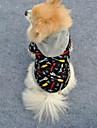 Коты / Собаки Толстовки Черный Одежда для собак Зима Свадьба / Косплей