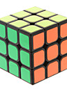 Magic Cube IQ Cube Three-layer Smooth Speed Cube Magic Cube puzzle Black ABS