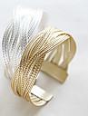 Bracelet Chaines & Bracelets Alliage Mariage / Soiree / Quotidien / Decontracte Bijoux Cadeau Dore / Argent,1pc
