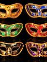 material plastico festa a fantasia mascara de halloween (cor aleatoria)