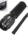 LED Flashlights/Torch / Handheld Flashlights/Torch LED 3 Mode 500 Lumens Adjustable Focus / Waterproof / Nonslip grip AAA