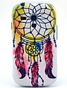 Feather Wind Chimes Pattern TPU Soft Case for Samsung Galaxy S3 Mini I8190