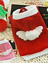 Dog Hoodie Red / Pink Dog Clothes Winter Cosplay / Christmas / New Year's
