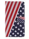 용 LG케이스 카드 홀더 / 지갑 / 스탠드 / 플립 케이스 풀 바디 케이스 국기 하드 인조 가죽 LG LG G3