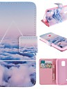 Only Beautiful Cloud Design PU Full Body Case with Stand with Card Slot for Samsung Galaxy S5 Mini