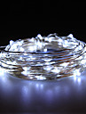 vattentät 10W 100x0603smd mjuk kopparlampa vita lampor (DC 12V / 1000 cm)