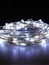 10W 100x0603smd אורות לבנים מנורת נחושת רכה עמידים למים (12V DC / 1000cm)