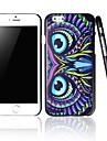 caso difícil padrão colorido da coruja para o iPhone 6