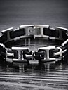 Classic Stainless Steel Bracelet sSilicone Men Cross Religion Christmas Gifts