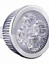 5W / 4W GU5.3(MR16) Lampadas de Foco de LED MR16 4 LED de Alta Potencia 400 lm Branco Quente / Branco Frio Regulavel DC 12 / AC 12 V 1 pc