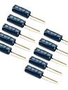 SW-18015p вибрации датчик контактный пожимая выключатели - черные (10 шт)