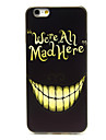 Evil Laugh Pattern TPU Soft Cover for iPhone 6/6S