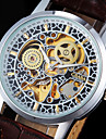 Men's Watch Auto-Mechanical Skeleton Hollow Engraving Wrist Watch Cool Watch Unique Watch