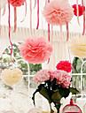 10-дюймовый папиросной бумаги пом Англичане свадьба декор крафт-бумаги цветы свадьба (набор из 4)