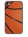 아이폰 4 / 4S를위한 농구 디자인 알루미늄 하드 케이스