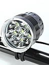 Lampes Frontales Eclairage de Velo / bicyclette LED Cree XM-L T6 Cyclisme Etanche Rechargeable Resistant aux impacts Transport Facile