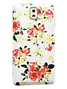 Flower Pattern Thin Hard Case Cover for Samsung Galaxy Note 3