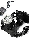 Headlamps LED 1600 Lumens Mode Cree XM-L T6 Cree Cree T6 18650 Rechargeable Camping/Hiking/Caving Cycling/Bike Multifunction Outdoor
