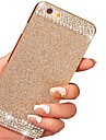 Solid Bling Glitter Back Cover Case with Diamond for iPhone 6(Assorted Colors)