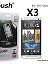 grande transparence protecteur d\'ecran lcd mate pour HTC One mini (3 pieces)