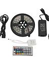 z®zdm водонепроницаемый 5м 300x5050 SMD RGB светодиодные полосы света с 44-кнопки пульта дистанционного управления (100-240В)