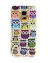 Pour Samsung Galaxy Coque Motif Coque Coque Arriere Coque Chouette PUT pour Samsung S5 Mini