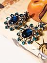 I FREE®Women\'s Casual Crystal Diamond-encrusted Sun Flower Shape Stud Earrings 1 pair