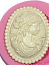 камеи женский силиконовые формы силиконовые формы для повелительницы помадки фимо резинки пасты& шоколад см-473