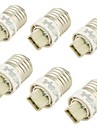 YouOKLight® 6PCS E27 to G9 LED Bulb Adapter Converter (AC6V-265V)