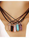 Leather Necklace Pendant Necklaces Wedding/Party/Daily/Casual 1pc