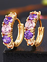 Crystal/Alloy Earring Stud Earrings Wedding/Party/Daily/Casual 2pcs