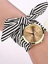 2,015 אופנת newgeneva שעוני נשים להתלבש רצועת בד קשת נערת שעון יד שעון