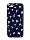 Lovely Little Elephant Design PC Hard Case for iPhone 4/4S