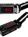 Wireless LED Bluetooth FM Transmitter MP3 Player Car Kit SD USB Charger Handsfree for iPhone Smart Phones