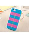 silicone style pianistique matériel pour iphone 5 / 5s (couleurs assorties)