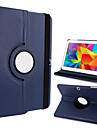 "360-Degree Rotating Faux Leather & TPU Rubber Stand Protective Case for Samsung Galaxy Tab 4 T530 4.0"" Tablet PC (Assorted Colors)"