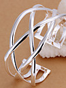 Silver Plated Bracelet Cuff Bracelets Wedding/Party/Daily/Casual 1pc Christmas Gifts