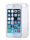 Voor iPhone 5 hoesje Transparant hoesje Volledige behuizing hoesje Effen kleur Hard PC iPhone SE/5s/5