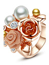 Statement Rings Pearl Alloy Fashion Statement Jewelry Jewelry Party 1pc